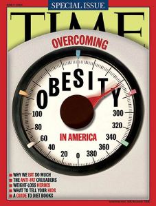 Overcoming Obesity in America (Time Magazine Cover page)