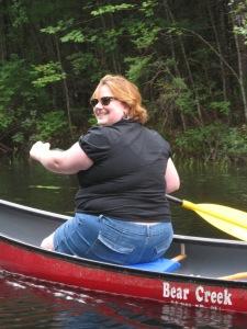 I AM paddling!