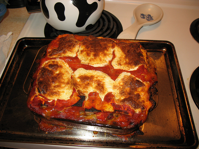 Mushroom-Spinach Lasagna