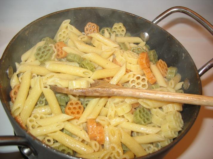 gleaming pasta