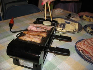 Raclette in action