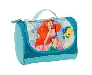 blue Ariel lunch tote