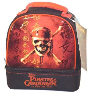 Pirates of the Carribean lunch tote