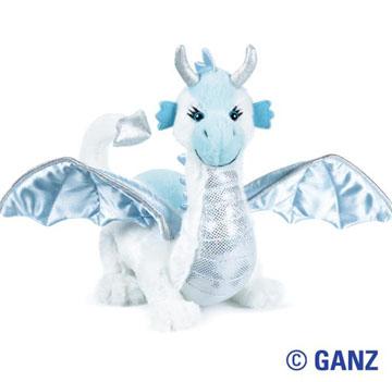 """""""Dragon"""".  Webkins' stuffed Ice Dragon"""